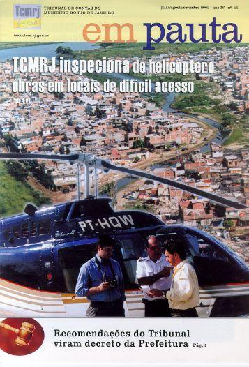 em pauta 19_09 - Tribunal de Contas do Município do Rio de Janeiro
