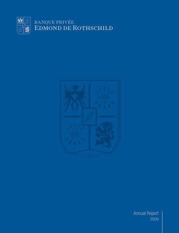 Annual Report 2009 - Banque Privée Edmond de Rothschild