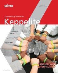 January 2009 - Keppel Corporation