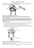 Console Top Handling Instructions - Page 5