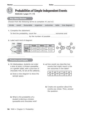 probability of independent events worksheet pie1. Black Bedroom Furniture Sets. Home Design Ideas