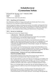 08.10.2008 - Elternrat des Gymnasium Soltau