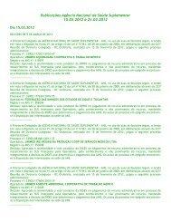 Publicações ANS – Dia 03 - Unimed do Brasil