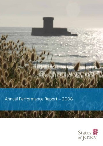 Annual Performance Report – 2008 - States of Jersey