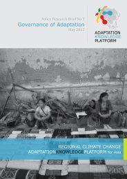 Governance of Adaptation - Regional Climate Change Adaptation ...
