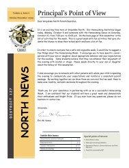 Family Newsletter Oct - Dec 2009 - Grayslake North High School