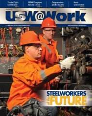 USW | United Steelworkers - National College Players Association ...