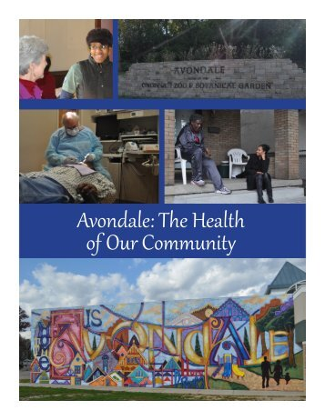 Avondale: The Health of Our Community - The Health Foundation of ...