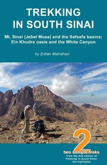 Mt. Sinai (Jebel Musa) and the Safsafa basins - Discover Sinai