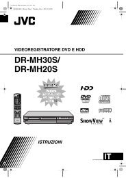 DR-MH30S/ DR-MH20S - Jvc