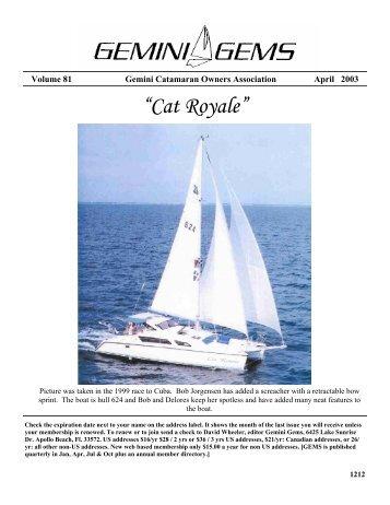 Issue #81, Apr 2003 - Gemini Gems