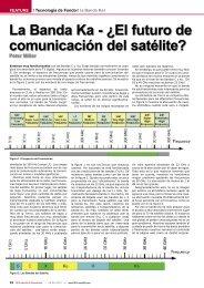 La Banda Ka - ¿El futuro de comunicación del satélite? Peter Miller