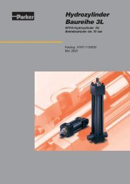 Hydrozylinder Baureihe 3L - Siebert Hydraulik & Pneumatik