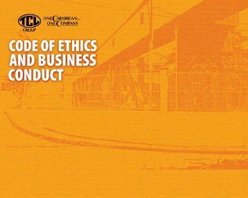 TCL Group's Code of Ethics and Business Conduct (3.89 MB PDF)
