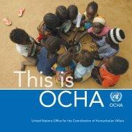 This is OCHA - OCHANet