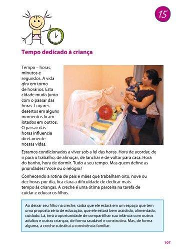 Tempo dedicado à criança - MultiRio