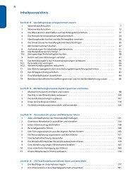 Inhaltsverzeichnis - Christiani