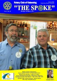 Vol 6-30-May 2 - Katanning Rotary Club
