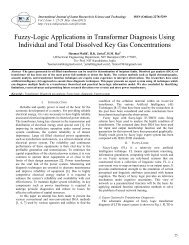 Fuzzy-Logic Applications in Transformer Diagnosis Using Individual ...