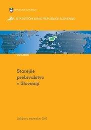 Starejše prebivalstvo v Sloveniji - Statistični urad Republike Slovenije