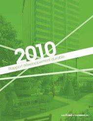 Rapport développement durable 2010 (pdf 4,3Mb) - Unibail-Rodamco