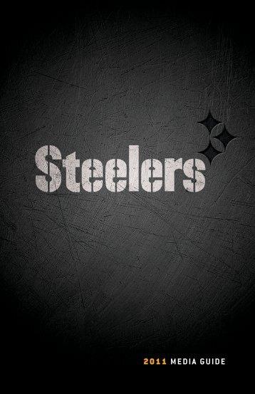2011 MEDIA GUIDE - Steelers - NFL.com