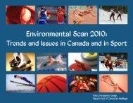 Environmental Scan 2010 - SIRC