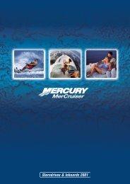 Sterndrives & Inboards 2001 - mercurymarine.dk