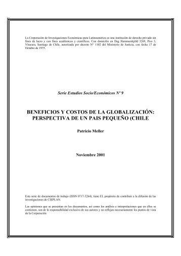 BENEFICIOS Y COSTOS DE LA GLOBALIZACIÓN: PERSPECTIVA ...
