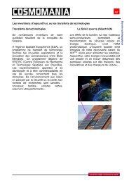 62 Les inventions d'aujourd'hui, ou les transferts de ... - Cap Sciences