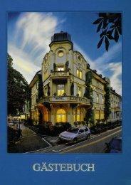 Gästebuch Literatur (9 MB) - Park Hotel Post