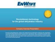 Revolutionary technology for the global ... - GOLDINVEST.de