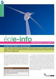 éole-info - Suisse-Eole