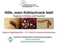 Hilfe, mein Kühlschrank lebt! - St.-Vincentius-Krankenhaus Speyer