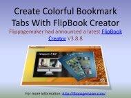 Create Colorful Bookmark Tabs With FlipBook Creator - 24 ...