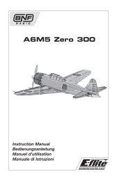31030.1 A6M5 Zero 300 manual.indb - E-flite