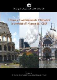 Clima e cambiamenti climatici: le attività di ricerca del ... - NaturaWeb