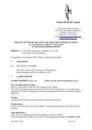 3 - Winnersh Parish Council