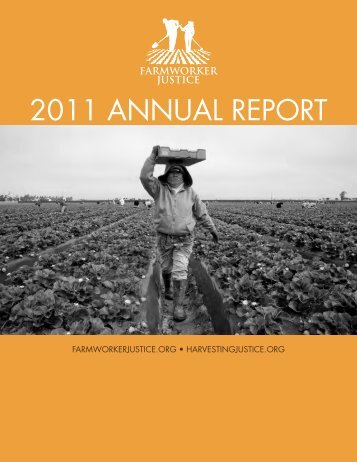 Strengthening occupational safety and health of farmworkers