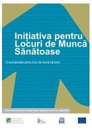 Broşura - Securitate şi Sănătate în Muncă în Munncă pentru ...