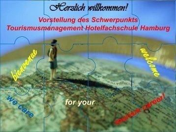 PR Konzept Schwerpunkt Tourismus - Hotelfachschule Hamburg ...