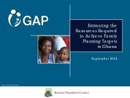 Ghana GAP Tool: PowerPoint Presentation - Health Policy Initiative
