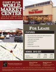 World Market Center - Prime Commercial, Inc