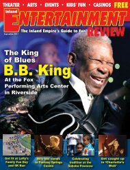 The King of Blues - Inland Entertainment Review Magazine
