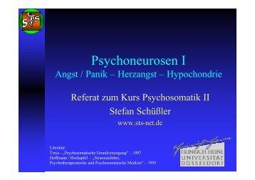 Referat - Psychoneurosen I - sTs-net.de