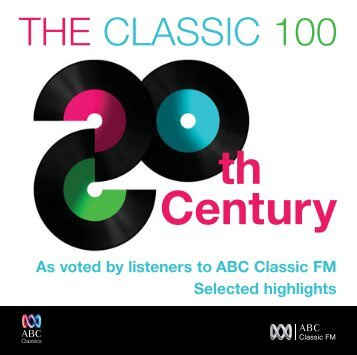 As voted by listeners to ABC Classic FM Selected highlights - Buywell