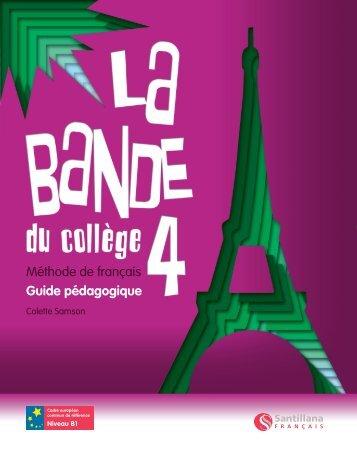 Livre du professeur 4 Démo - Santillana Français
