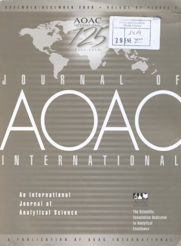 journal of aoac international