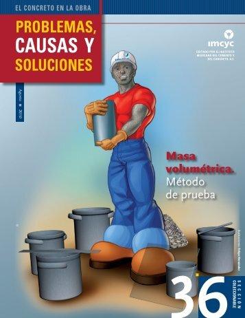 Masa volumétrica. Método de prueba - Instituto Mexicano del ...