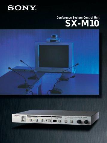SX-M10 data sheet pdf
